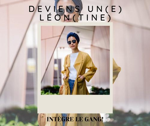 Deviens une Léontine