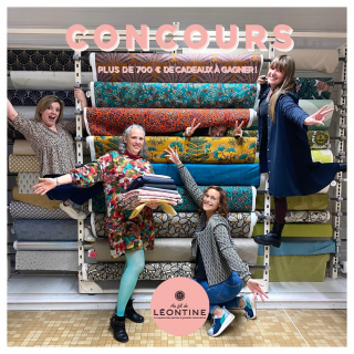 CONCOURS ✂  Vous vous souvenez de cet énorme concours organisé l'année dernière ? Léontine IS BACK et cette année le concours est encore plus OUF que l'année dernière !! 🎉🤟  Léontine s'associe à 8 très belles marques pour fêter son anniversaire et gâter l'un(e) d'entre vous !! 📣  Oui, oui vous avez bien lu, UNE SEULE ET UNIQUE PERSONNE remportera l'intégralité de ces cadeaux !!! 😱✨  A gagner :  🖨 @cricut_fr : vous offre la Cricut Joy d'une valeur de 189,99 € !  💋 @iam_patterns : vous offre ses 3 derniers patrons en version pochette : le sweat I AM Rainbow, la veste I AM Full Moon & le jean I AM Sunshine !  ✨ @vinydiy : Virginie vous offre 3 patrons pdf au choix sur sa boutique !  🎀 @burdastylefr : vous offre 1 an d'abonnement au magazine Burda Style (12 numéros) et 1 an d'abonnement au magazine Burda Easy (6 numéros) !  🤩 @rico_design : vous offre le kit broderie de votre choix pour vous mettre à la broderie !  🖤 @deer_and_doe_patterns : les filles de Deer and Doe offrent un patron au format pdf !  😎 @patronslesbg : Olivier & David vous offrent le patron de la veste Le Citadin (pour faire un cadeau de Noël à votre homme, votre cousin ou votre frère) !  ⭐ @api_dodynette : Elodie vous offre son tout dernier patron : le sac Hanaé (en taille sac à main et sac de plage).   🍒 Et cerise sur le gâteau, les Léontines offrent au grand gagnant un mannequin de couture de la marque Care & Create d'une valeur de 149,90 € et plus de 12 mètres de tissus haute couture et de grandes marques !!! 😱🤩  Pour jouer, c'est simple : - Abonnes-toi à notre compte et aux comptes des marques partenaires de ce concours de OUF. - Identifies 3 ami(e)s en commentaire. - Partages le post en story en nous identifiant (bonus).  Le ou la grand(e) gagnant(e) sera tiré(e) au sort parmi les participants sur Instagram & Facebook et sera annoncé vendredi 15 octobre !! 🍀   Concours ouvert à toute personne résidant en France métropolitaine. Règlement disponible sur demande.   Que la chance soit avec vous !!! 🤞